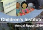 Cover image of the CI Annual Report 2016